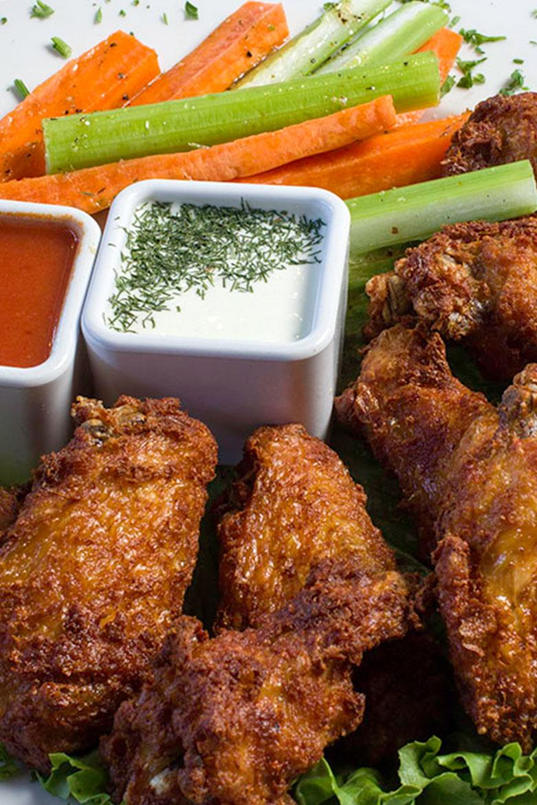 tavern grille wings inset